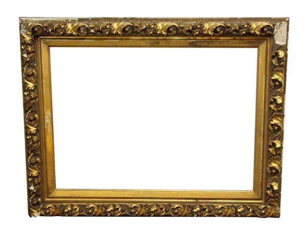 Ornate Gold Plaster Picture Frame