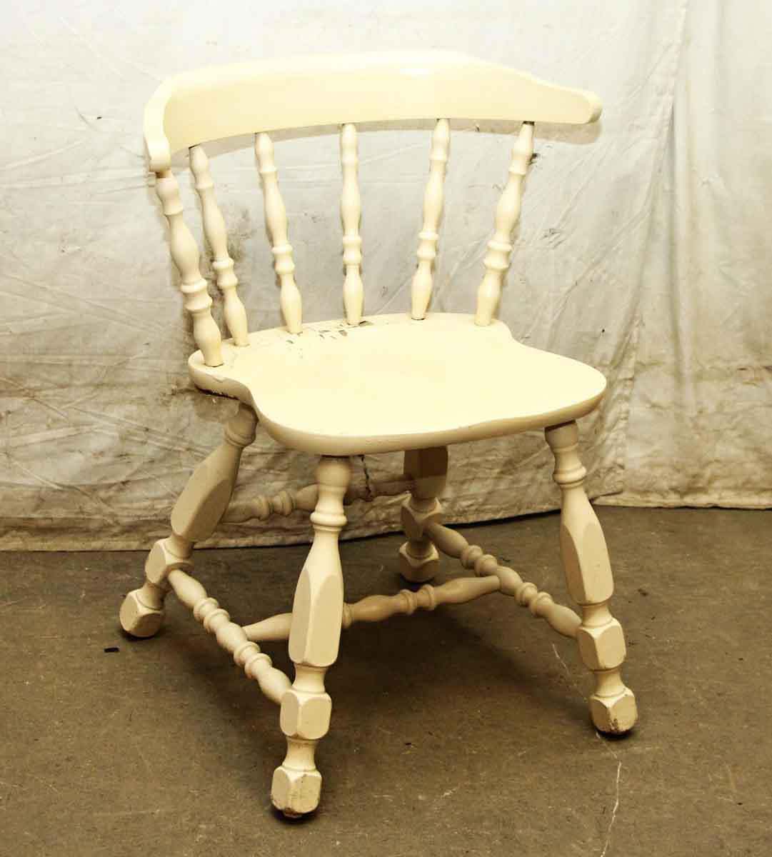 Vintage Wooden Kitchen Chairs: Antique Wooden Captains Chair