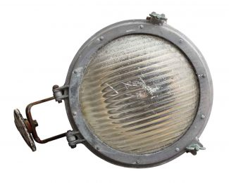 Salvaged industrial commercial lighting olde good things ship light with vintage lens aloadofball Gallery