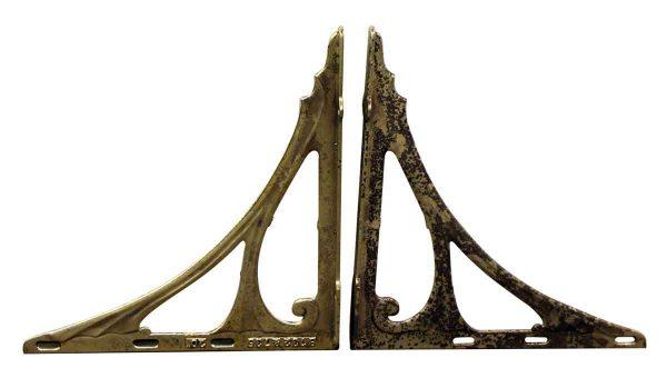 Pair of Iron Sink Brackets