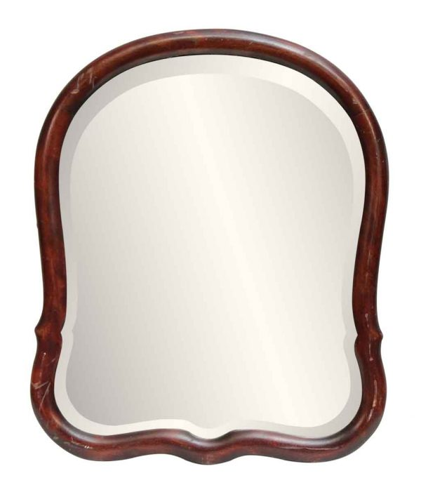 Wall Mount Mirror with Beveled Glass
