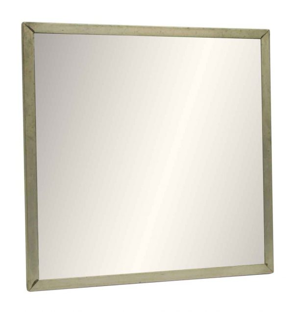 Metal Framed Mirror Set