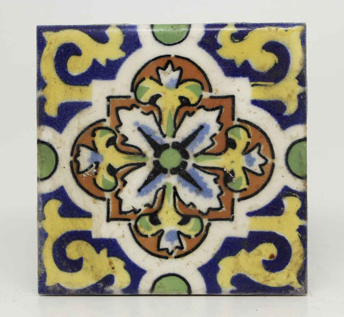 Colorful spanish decorative tile olde good things for Spanish decorative tile