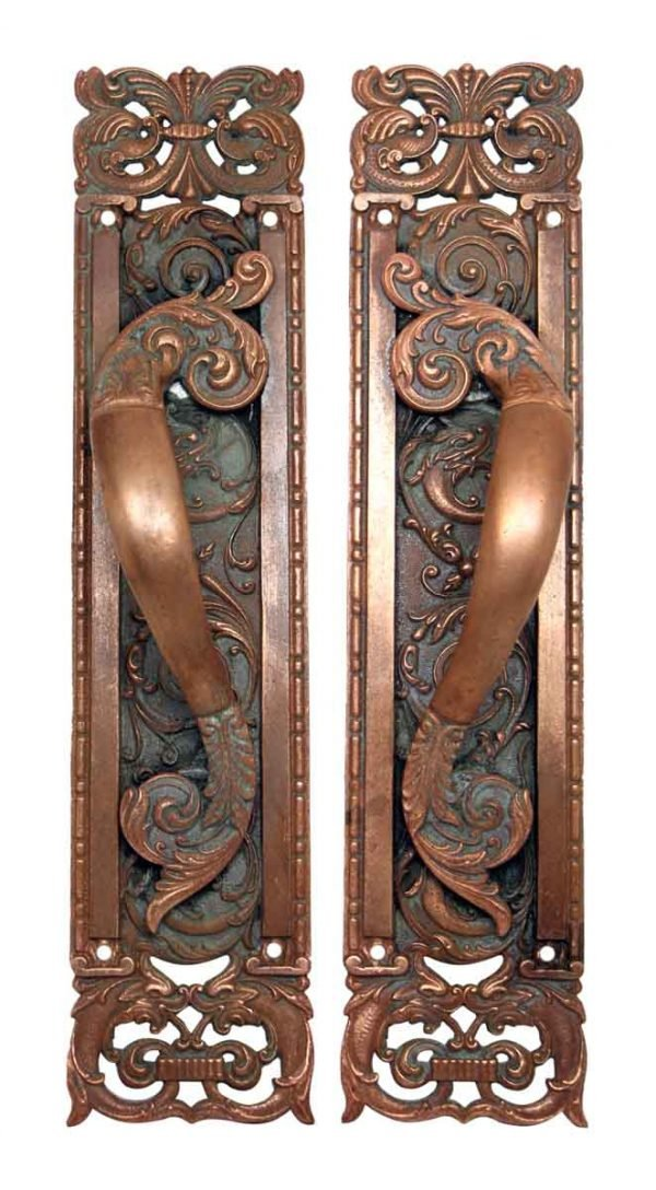 Highly Ornate Decorative Door Pulls