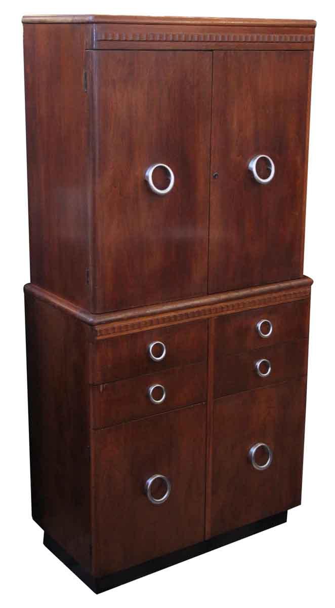 art deco medical cabinet olde good things. Black Bedroom Furniture Sets. Home Design Ideas