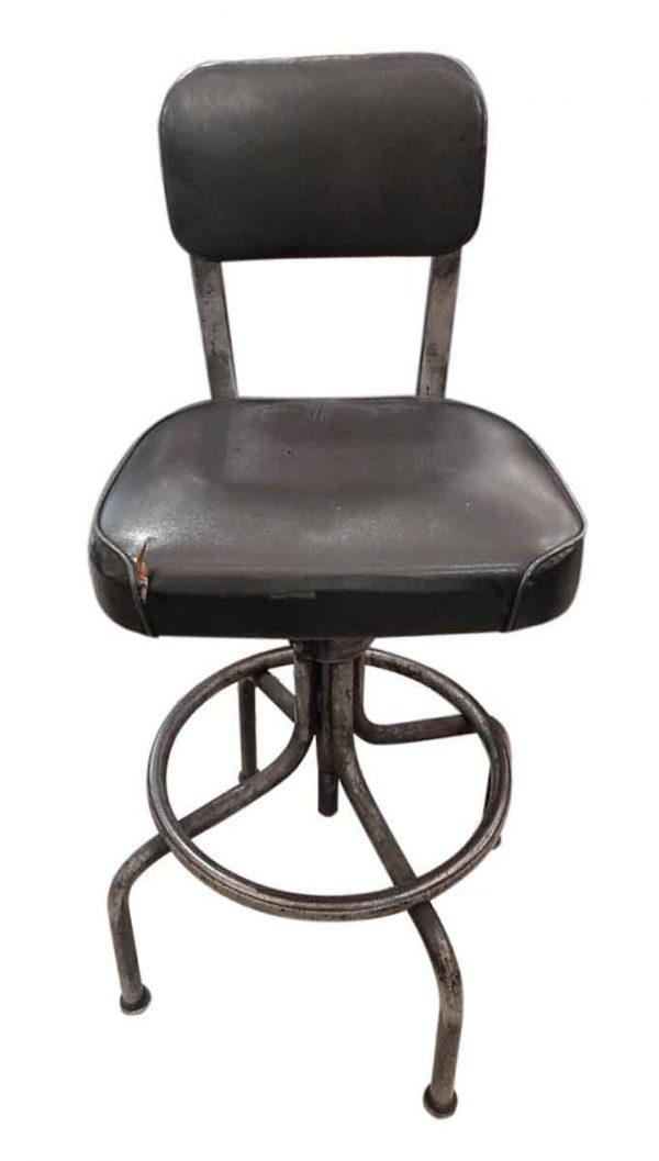 Vintage Black Stool Chair
