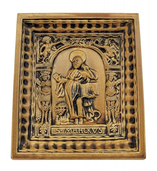 Ceramic Tile with St. Marcus