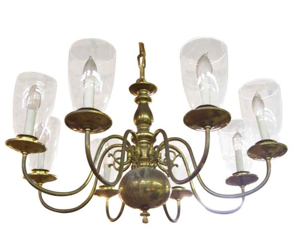 Williamsburg Chandelier with Glass Shades