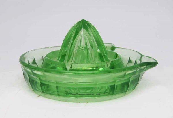 Green Vintage Juicer Dish