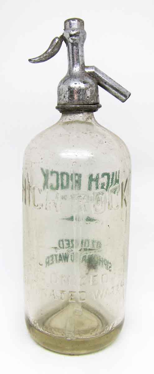High Rock Vintage Seltzer Bottle | Olde Good Things