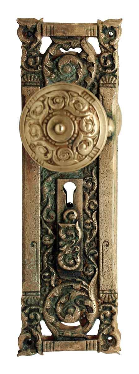 Columbian Bronze Door Knob Set