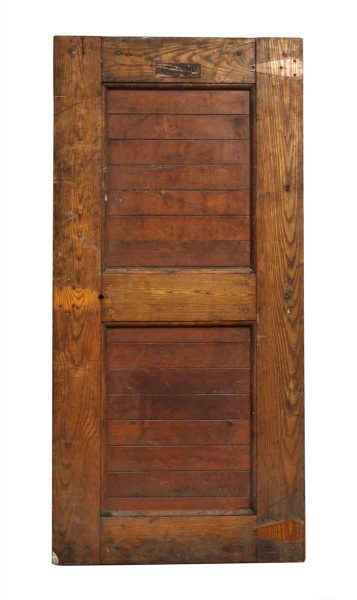 Wooden Ice Box Door