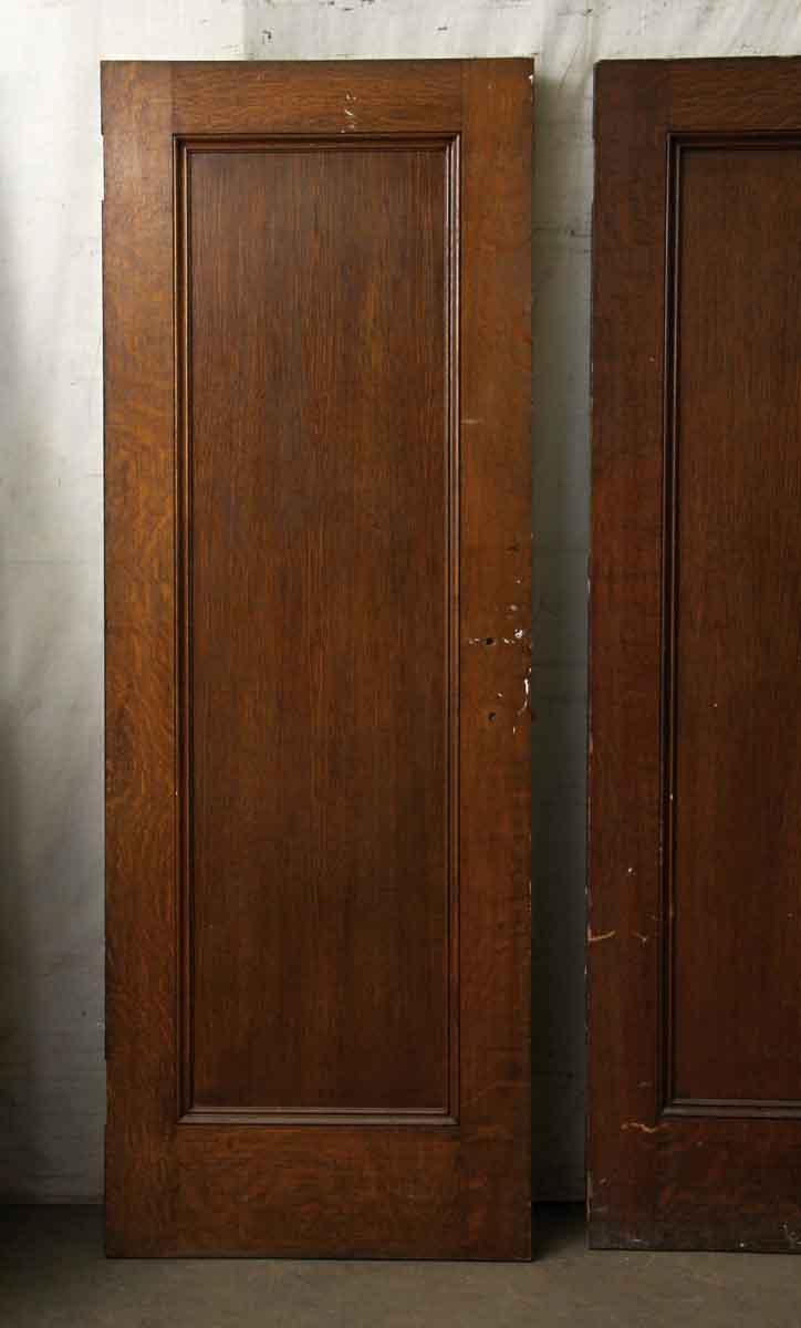 Single Wood Panel ~ Single panel dark wood door olde good things