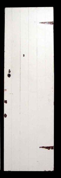 White Wooden Narrow Doors