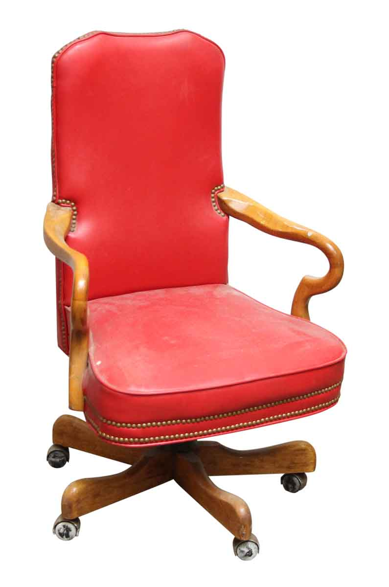 chair by rolling bros schafer pin leather wingback
