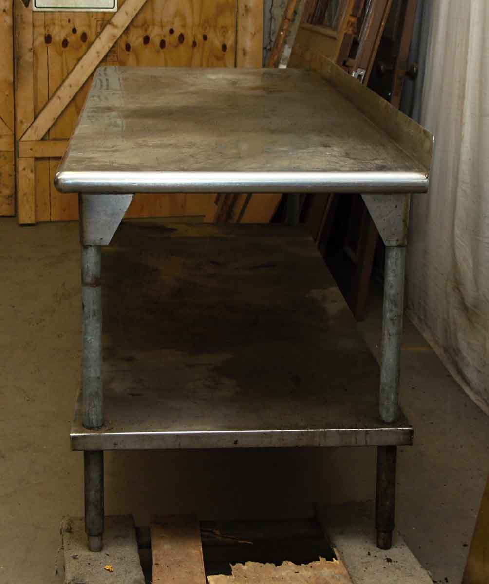 Industrial Kitchen Prep Table: Industrial Metal Kitchen Prep Table