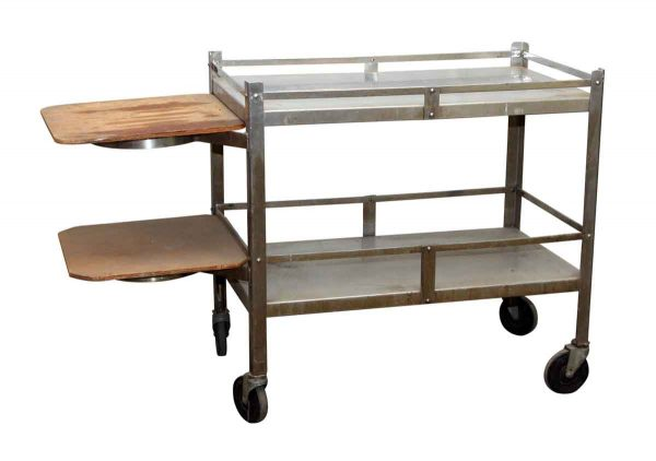 Two Tiered Metal Hospital Cart