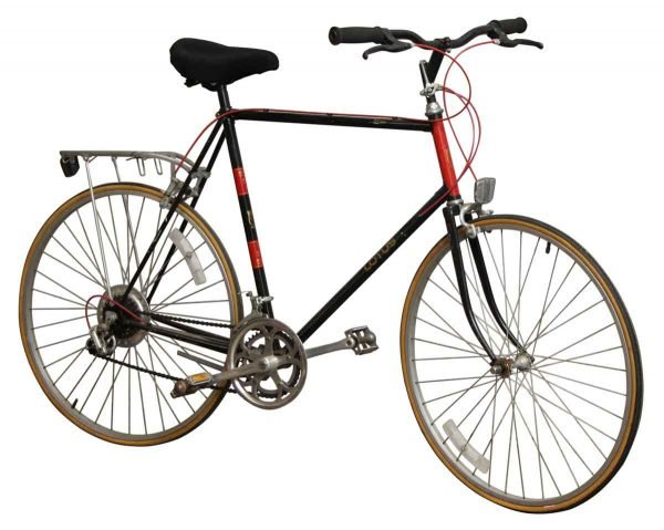 Black & Red Lotus Bike