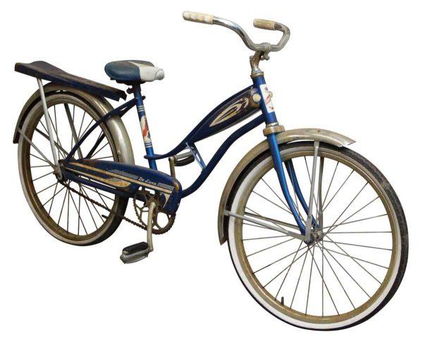 Thunder Jet Deluxe Blue Bike