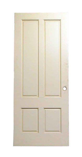 Wooden Four Panel White Doors