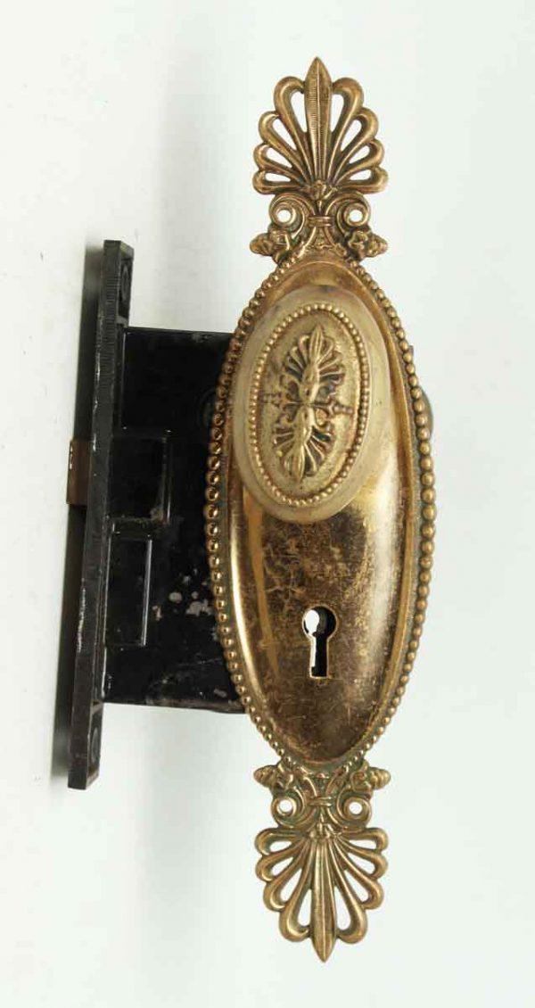 Decorative Oval Knob Set