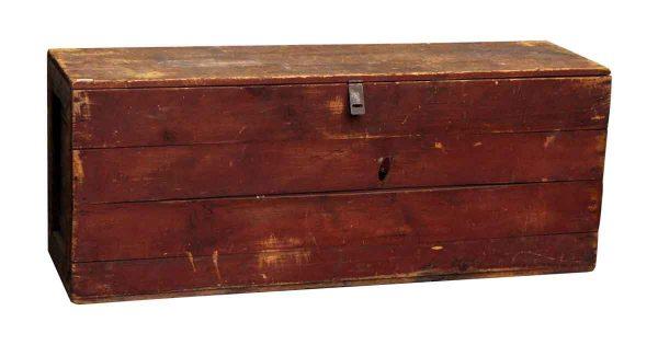 Worn Wooden Storage Chest