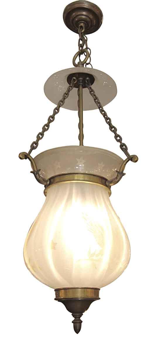 American Bell Jar Glass Light
