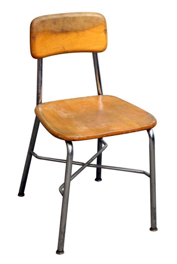 Single Heywood Wakefield School Chair