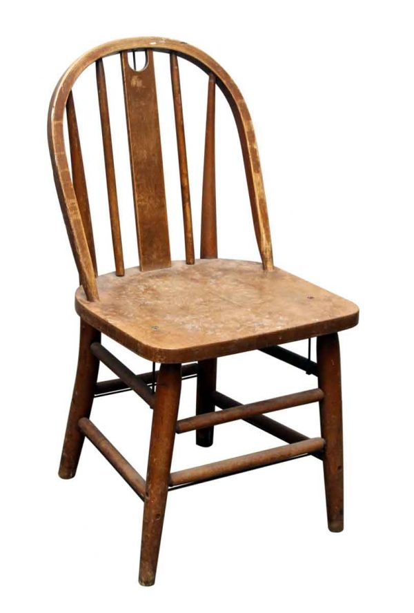 Single Heywood Wakefield Wood Chair