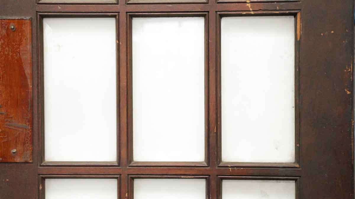 15 Glass Beveled Panel French Door Olde Good Things