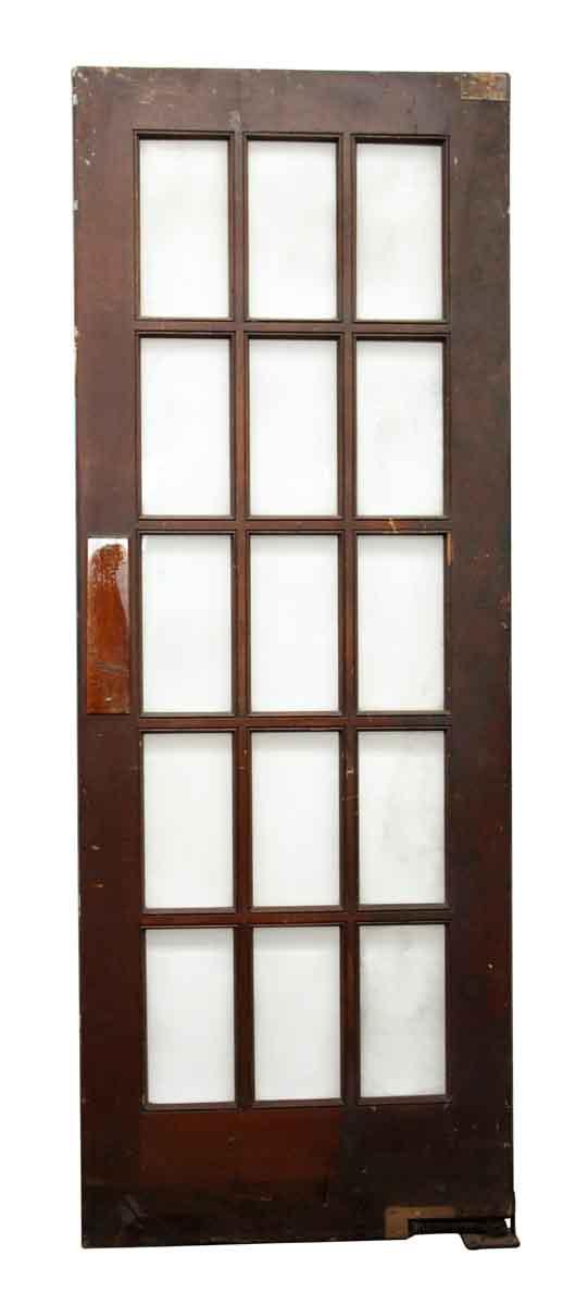 15 Glass Beveled Panel French Door