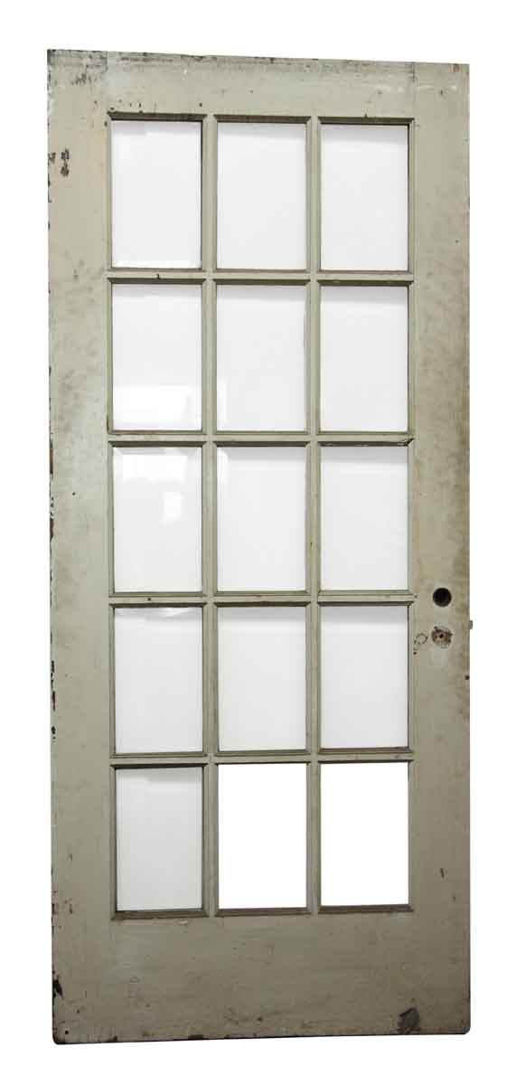15 beveled glass panel white door olde good things for 15 panel glass exterior door