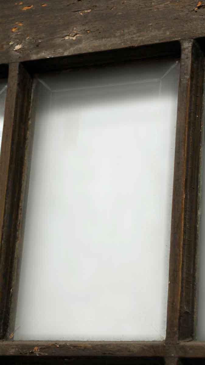 15 Cut Glass Panel Wood Door Olde Good Things