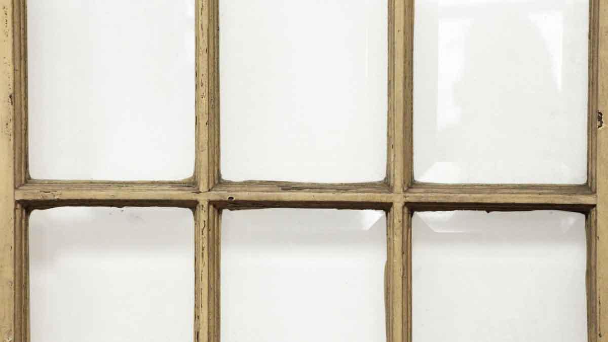 15 beveled glass panel tan door olde good things for 15 panel glass french door