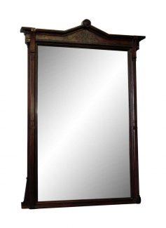 tall carved wood framed mirror - Wood Framed Mirror