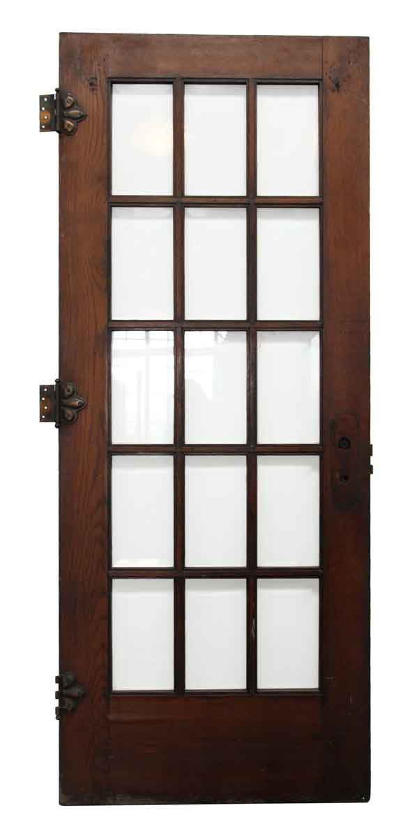 15 Beveled Glass Panel French Door Olde Good Things