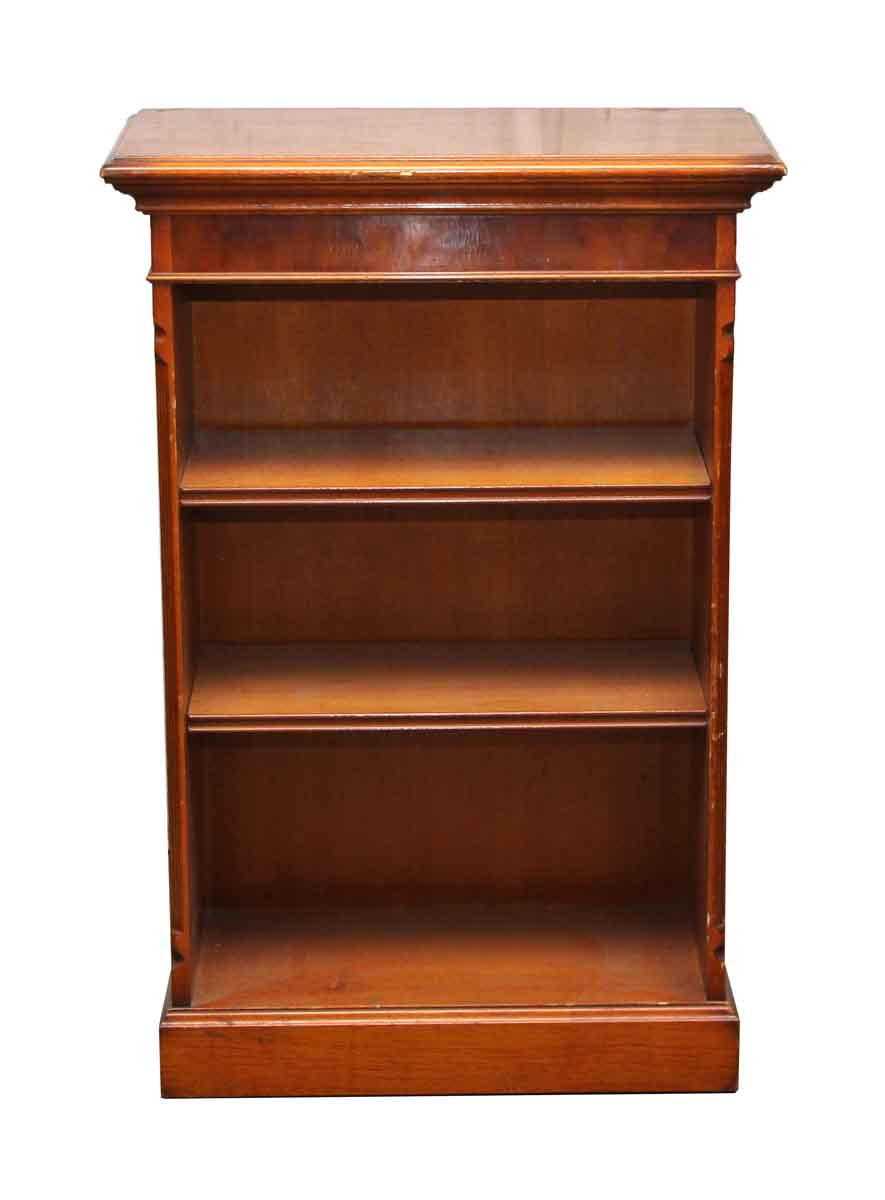 Wooden bookcase with two shelves olde good things