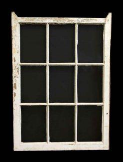 Single Nine Panel Wood Window
