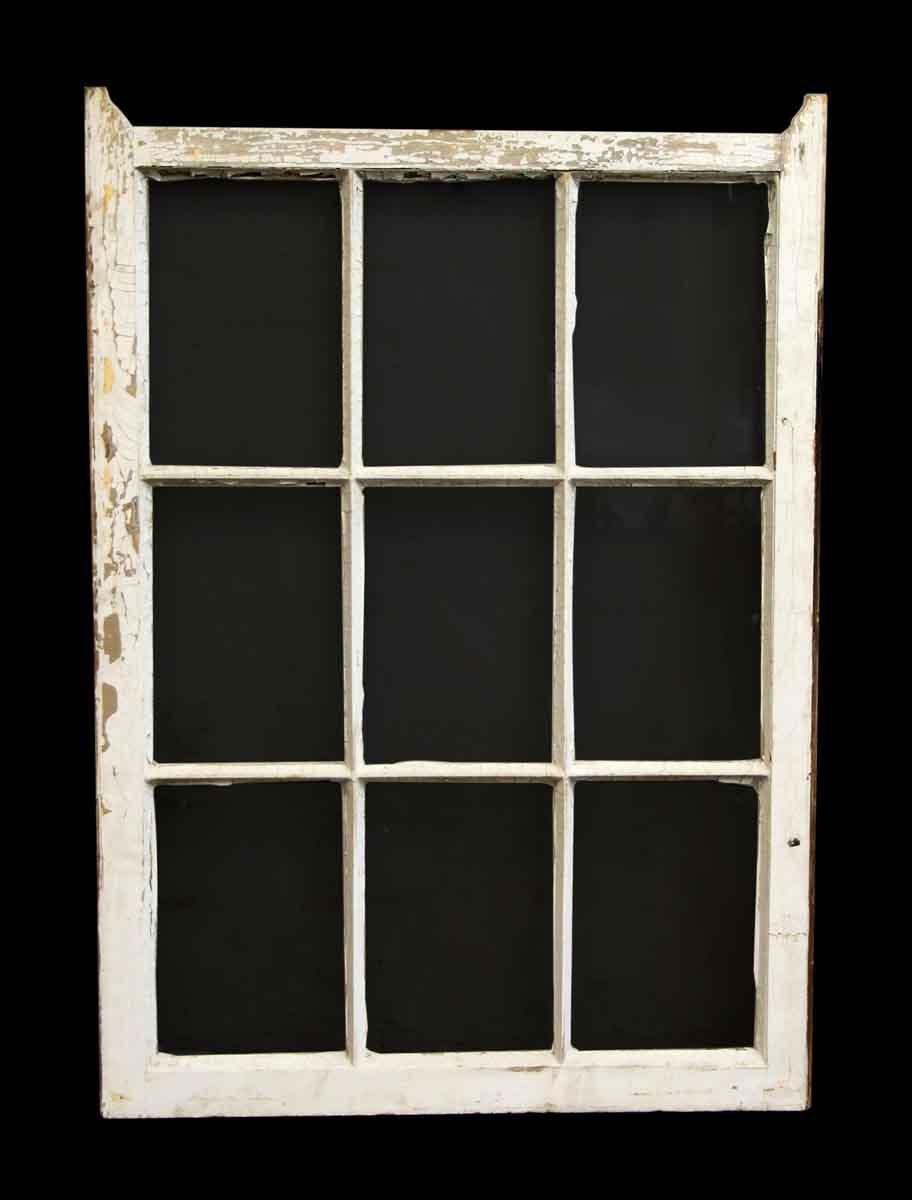 Single Wood Panel ~ Single nine panel wood window olde good things
