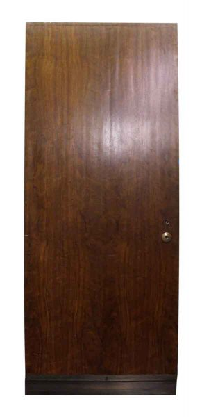 Thick Wood Door