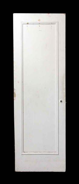 Single White One Panel Mirrored Door