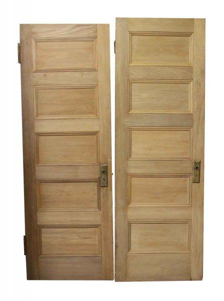 Five Panel Wood Doors