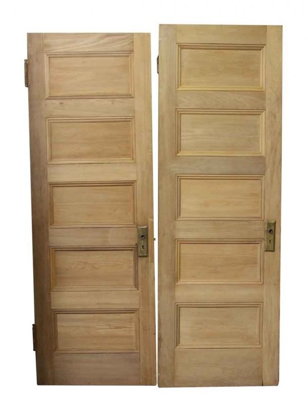 Five Panel Wood Doors