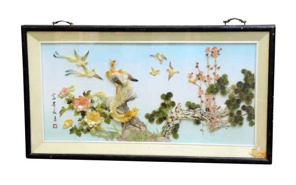 Framed Oriental Relief