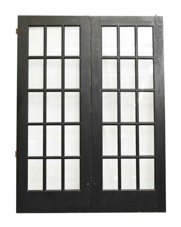Connected French Double Doors