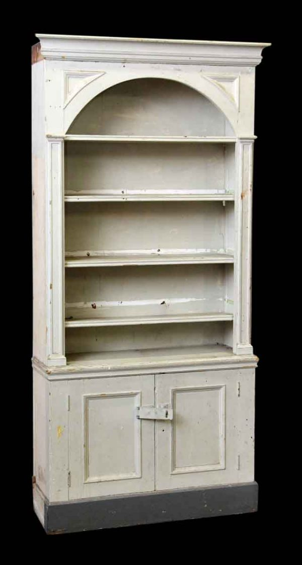 Painted White Wood Cabinet
