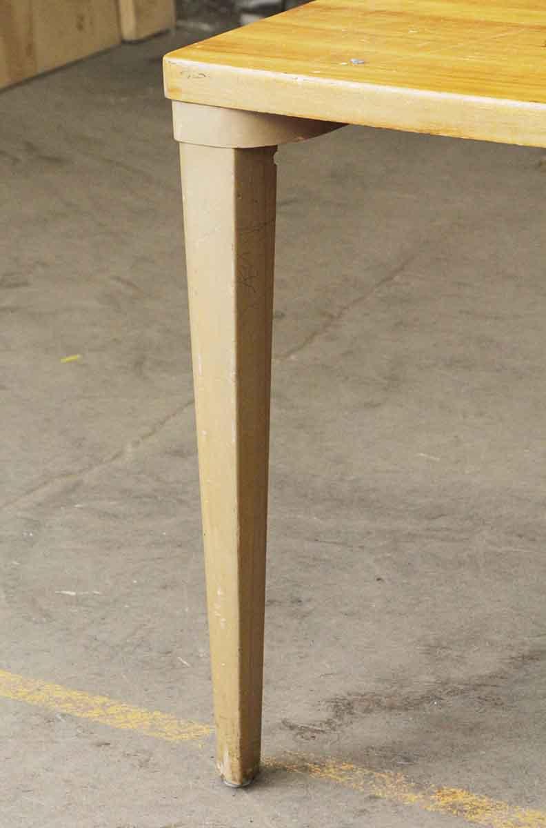 Long Wooden Remington Rand Table