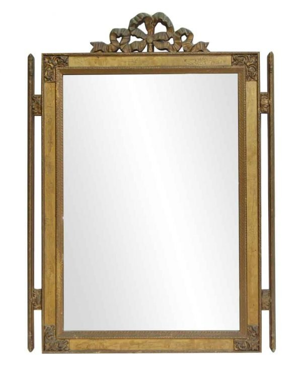 Gilded Ornate Wall Mount Mirror