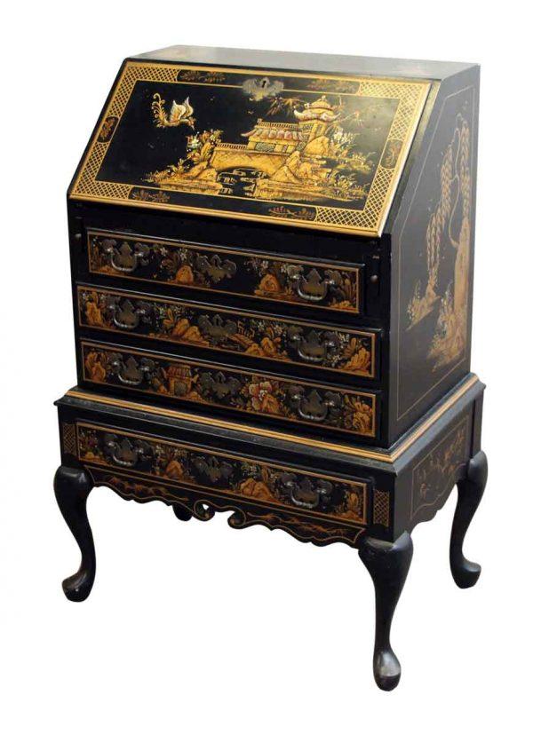 Desk with Eastern Details