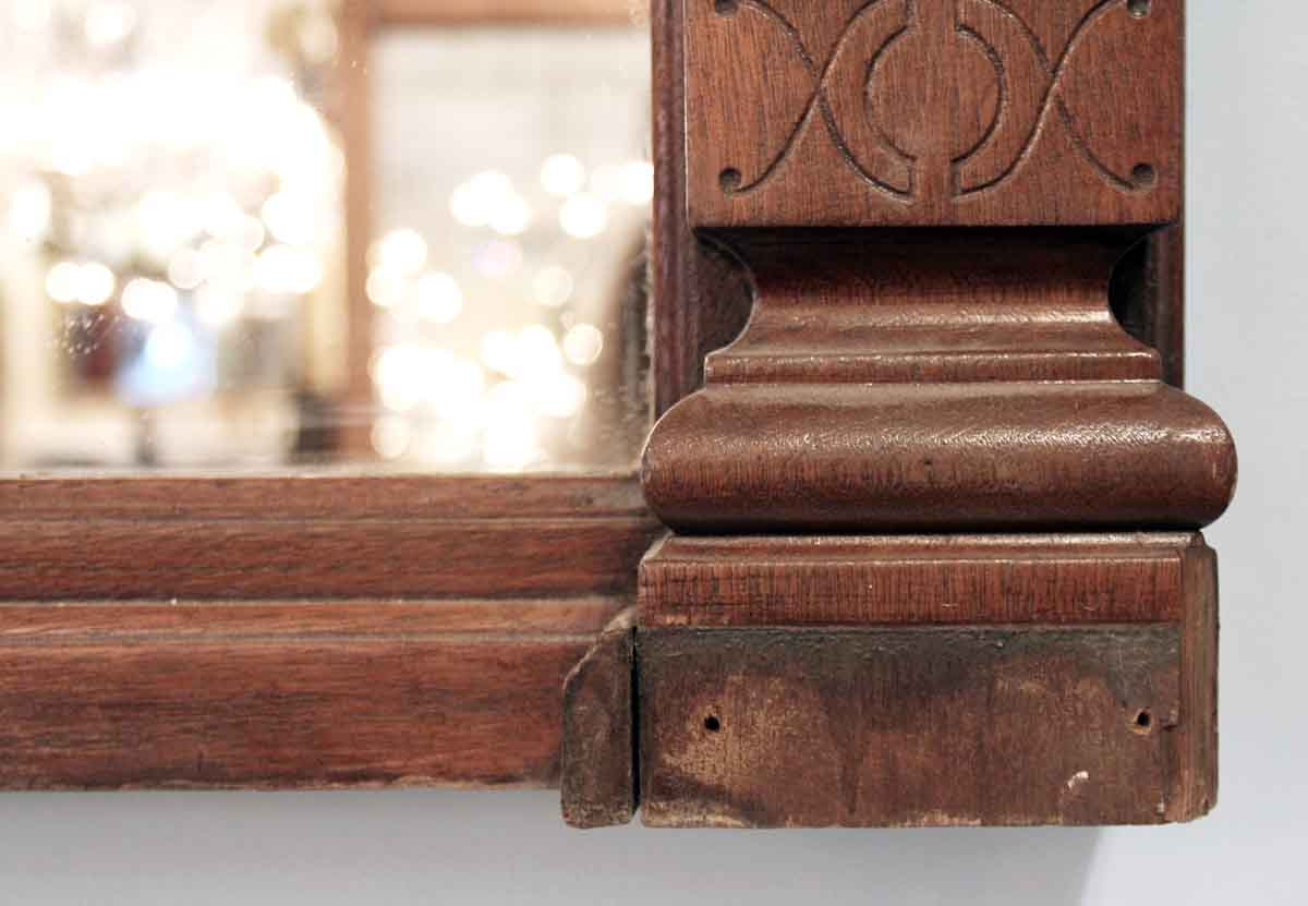 Outstanding 19Th Century Walnut Over Mantel With Eastlake Detail Short Links Chair Design For Home Short Linksinfo